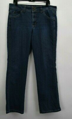 Gloria Vanderbilt Women's Size 16 Casual Wear Denim Blue Jeans Dark Wash