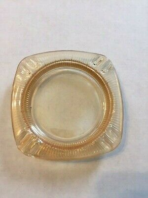 Vintage Antique Glass Ashtray