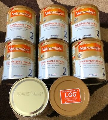 Nutramigen 2 with LGG - 8 x 400g Tubs BRAND NEW & SEALED