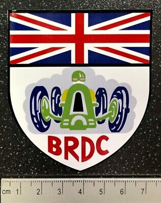 Official BRDC F1 Souvenir Sticker British Racing Drivers Club Silverstone F1