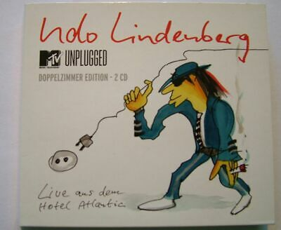 Udo Lindenberg - MTV Unplugged Doppelzimmer Edition 2 CD Hotel Atlantic