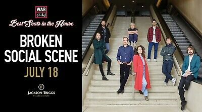 VIP Concert Experience with Broken Social Scene - July 18th, 2019
