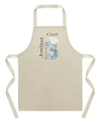 Personalised Girls/Boys Chef Apron