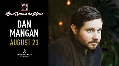 VIP Concert Experience with Dan Mangan - August 23, 2019