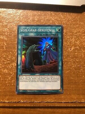 Yugioh GERMAN Called by the Grave EXFO-ENSE2 Super Rare NM 3 AVAILABLE