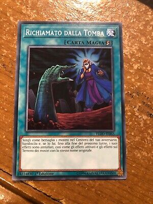 Yugioh ITALIAN Called by the Grave FLOD-EN065 Common 1st Ed NM 3 AVAILABLE