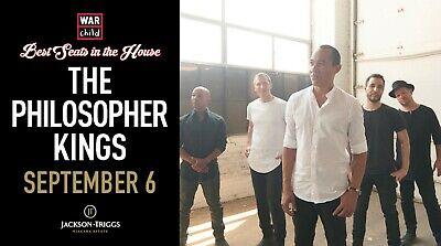 VIP Concert Experience with The Philosopher Kings - September 6, 2019