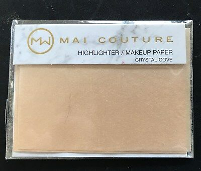 Mai Couture Highlighter Paper - four sheets - sample size
