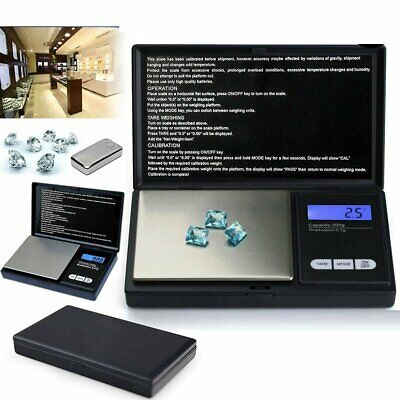 0.01G-200G Electronic Mini Digital Pocket Jewelry Gold Pocket Weighing Scales KA