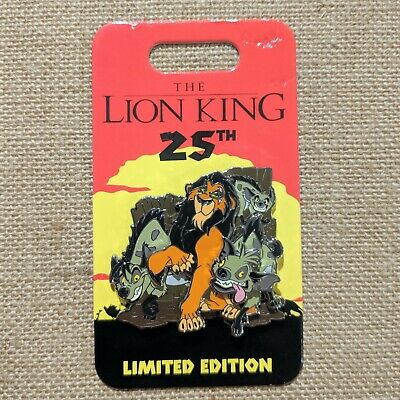 Scar Hyenas Pin 2019 Disney Parks Lion King 25th Anniversary LE 4000