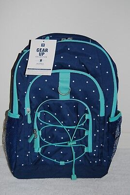 NEW Pottery Barn TEEN Gear-Up Ombre Backpack~Gray w//Pool~NO MONO