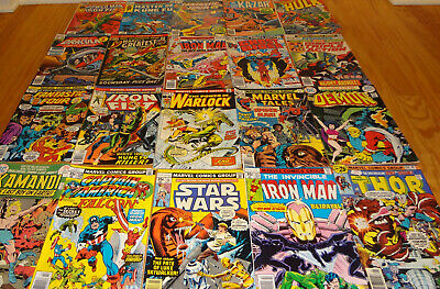 Mixed Lot Vintage Bronze Age Comics - Superheroes - 20 Titles - Nice!