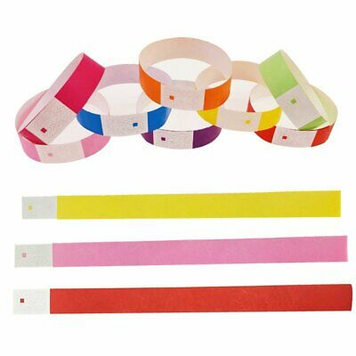 Hot Cheap Tyvek Paper Wristbands Event Party Festival Security ID Venue Bands KU