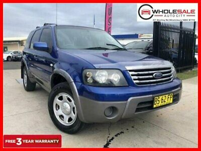 2007 Ford Escape ZC XLS Blue Automatic A Wagon