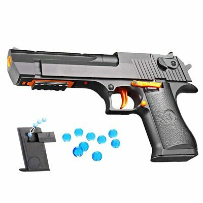 Hand Electric Shooting Toys Gun Soft Bullet Water Crystal Gel Polymer Ball KK