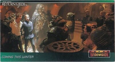 Star Wars 1995 Topps Return Of The Jedi Widevision P6 Rare Conventions Promo