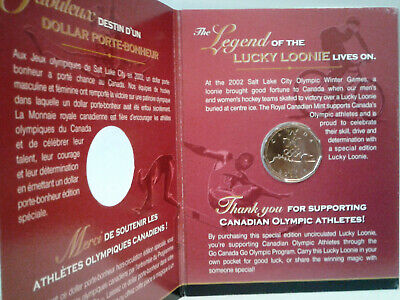 2004 UNC CANADA SPECIAL EDITION ONE DOLLAR - 1st 'LUCKY LOONIE' Issue