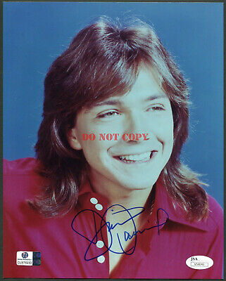DAVID CASSIDY SIGNED 8X10 PHOTO THE PARTRIDGE FAMILY reprint