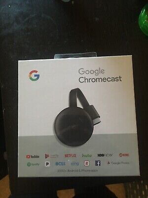 Google Chromecast 3rd Gen Streaming Media Player - Charcoal
