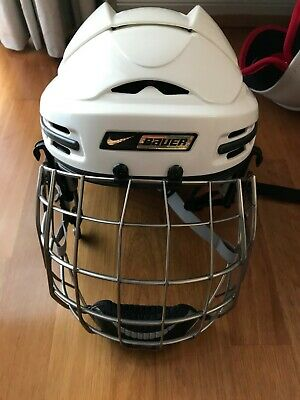 Bauer Ice Hockey Helmet with Cage - Rarely Used - Large