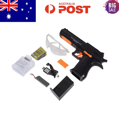 Electric MAG-FED DESERT EAGLE Automatic Water Gel Ball Blaster Hand Gun Pistol
