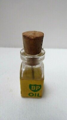 Vintage Bp Oil Bottle Airfix Slot Car Racing Miniature Model