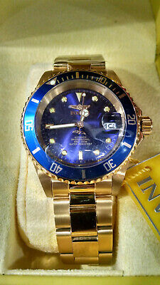Invicta Pro Diver 8930OB Men's Automatic Gold Tone Stainless Watch 40mm NH35A