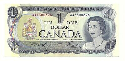 1973 Canada One Dollar Bank Notes (Unc)