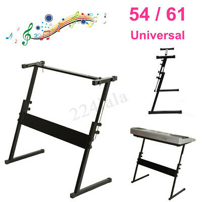 54/61 Z Frame Portable Heavy Duty Keyboard Adjustable Stand Piano Holder Height