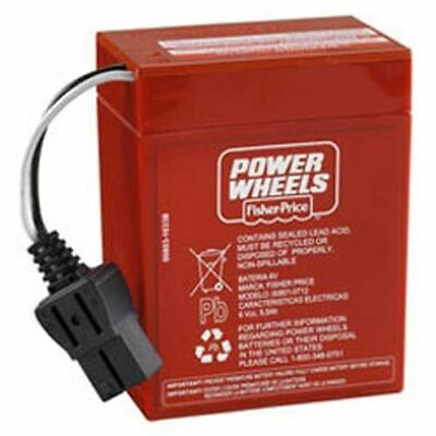 Replacement Battery For Fisher Price Barbie Corvette Power Wheels