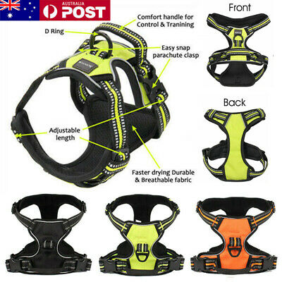 3M No-pull Dog Pet Harness Reflective Outdoor Adventure Pet Vest Padded Handle