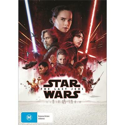 The Star Wars - Last Jedi (DVD, 2018)