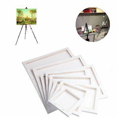 Canvas Panel Blank Cotton Wooden Frame Board For Oil Art DIY Drawing Painting KB
