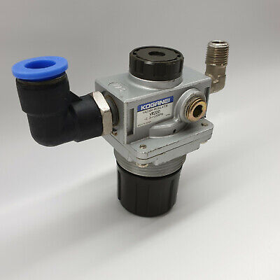 Koganei Vacuum Regulator VR200 -1.3 100KPa Push Lock