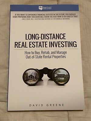 Bigger Pockets Long-Distance Real Estate Investing Book - NEW