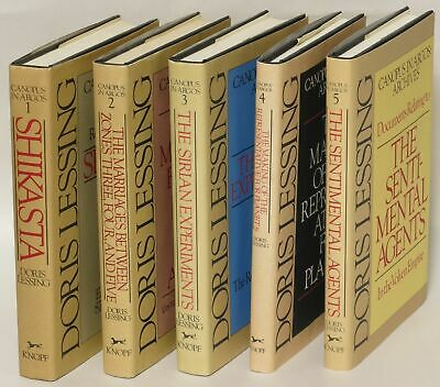 Canopus in Argos Archives 5 volume set / Doris Lessing Nice Copy 1st ed #238875