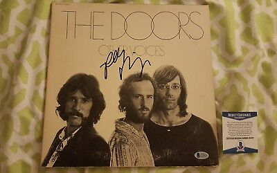 Robby Krieger of the Doors signed vinyl record Other Voices Beckett/BAS #C51970