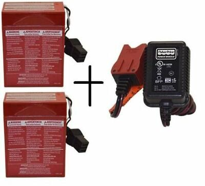 Replacement Battery For Fisher Price 6V Red Pack / Charger