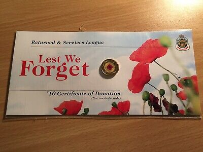2012 Red Poppy $2 Coin Plastic Replacement Sleeve Only (Genuine)
