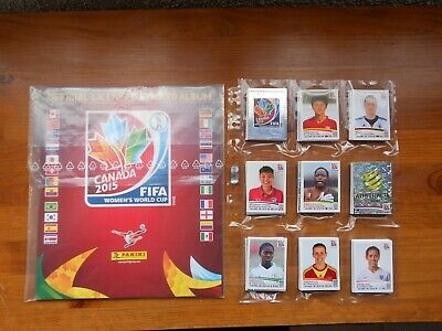 PANINI FIFA Women's World Cup 2015 Canada - set complet pret à coller