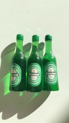 Miniature 1:12 Dollhouse Heineken Bottles Great with Coles Little Shop 2