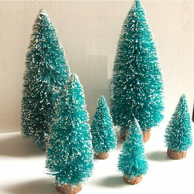 Best Christmas Snow Mini Tree Holiday Festival Gift Party Office Ornament Decor