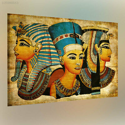 F523 40x60cm Egypt Wall-Painting Oil-Picture Pharaoh Retro Home Decor Art-Poster