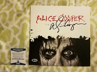 Alice Cooper signed The Sound Of A vinyl 10 inch record Beckett/BAS #H56057