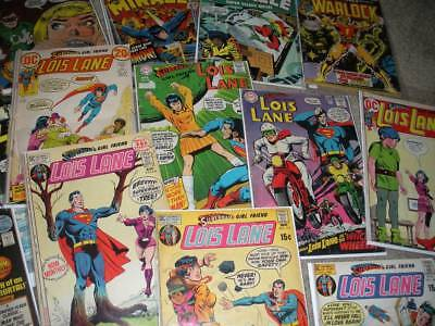 **eBay Sale 100 Comics From Modern to Vintage SPIDERMAN HULK SUPERMAN AND MORE**