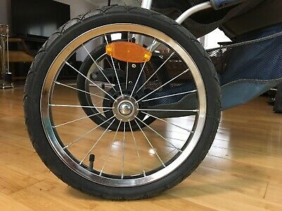 "REAR 16"" WHEEL for Baby Trend Expedition Jogging Stroller - QUICK RELEASE"
