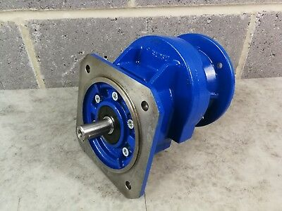 Motovario Reduction Gearbox 71 Flange Input 80 Flange Output 4.2:1 Reduction *