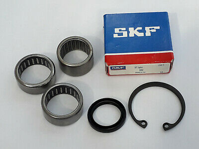 VESPA PX T5 PX200 FRONT HUB 20mm AND AXLE BEARINGS SET OF 4 (SKF)
