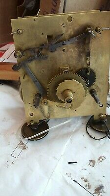 8 day Longcase grandfather Clock Movement for repair or spares