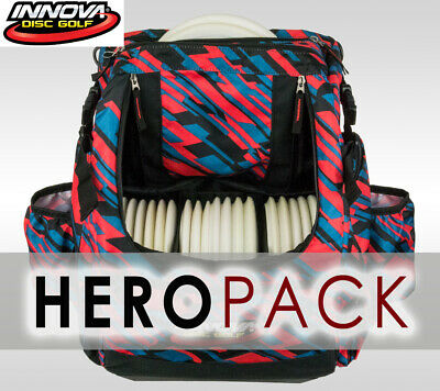 Innova Heropack Disc Golf Bag Geometric (Holds 25 Discs) Includes: Crdg Header
